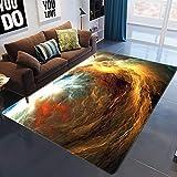 XuJinzisa Galaxy Space Star Alfombra De Impresión 3D Suave Antideslizante Dormitorio De Los Niños Sala De Estar Dormitorio Decoración del Hogar Alfombra 180X260Cm H8959